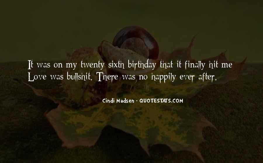 Sixth Birthday Quotes #150028