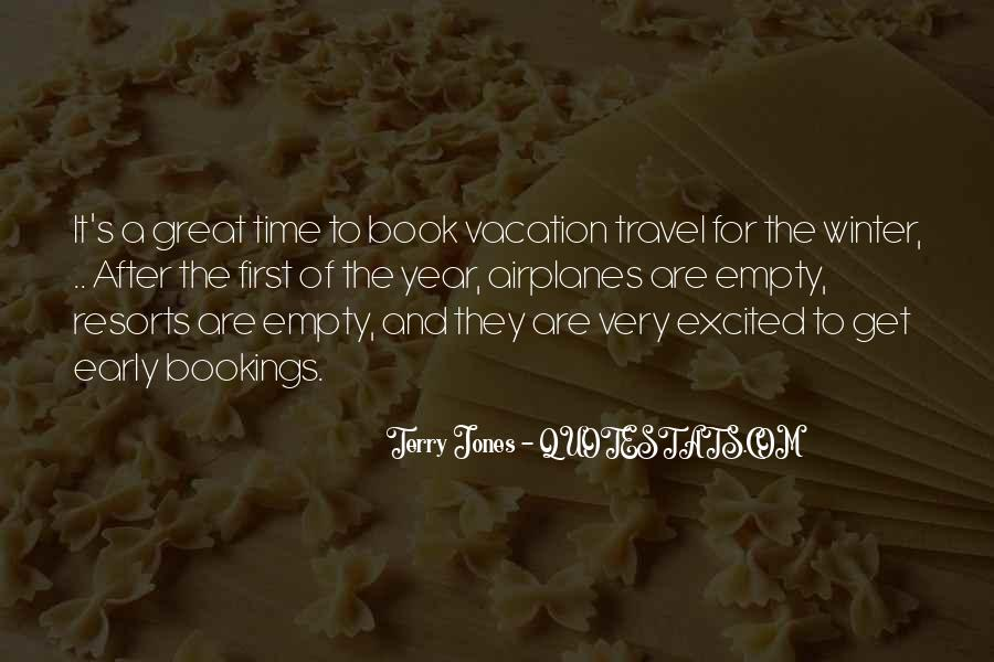 Quotes About After Vacation #614946