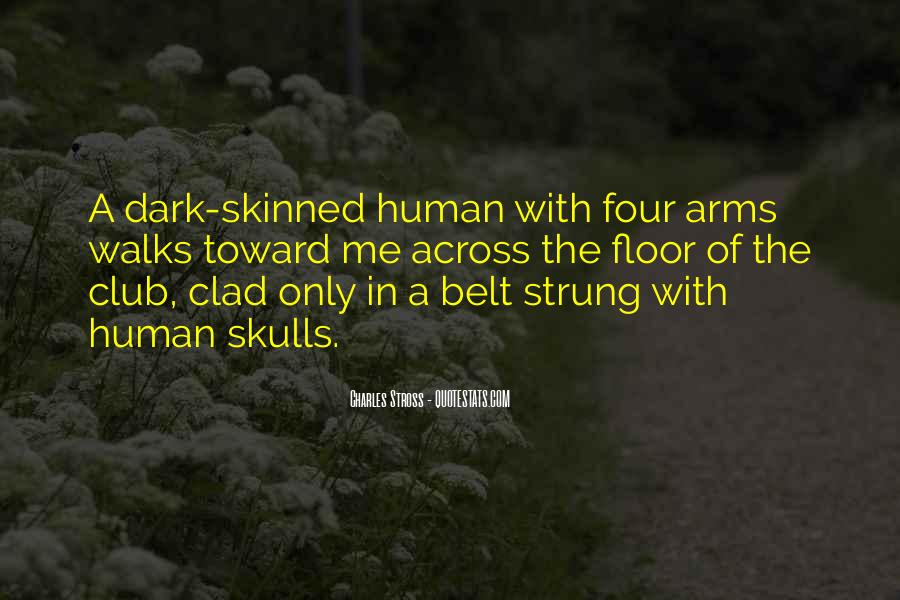 Skinned Quotes #487987