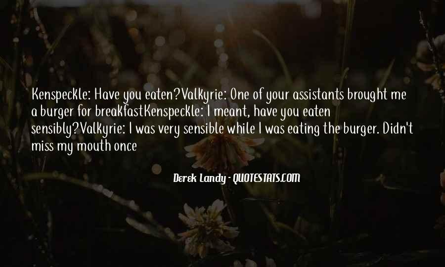 Skulduggery Pleasant Valkyrie Cain Quotes #1212398