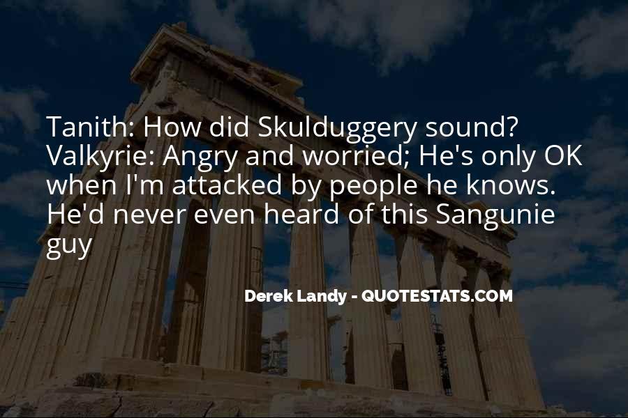 Skulduggery Pleasant Valkyrie Cain Quotes #627712