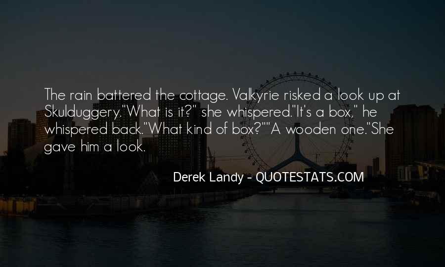 Skulduggery Pleasant Valkyrie Cain Quotes #808080