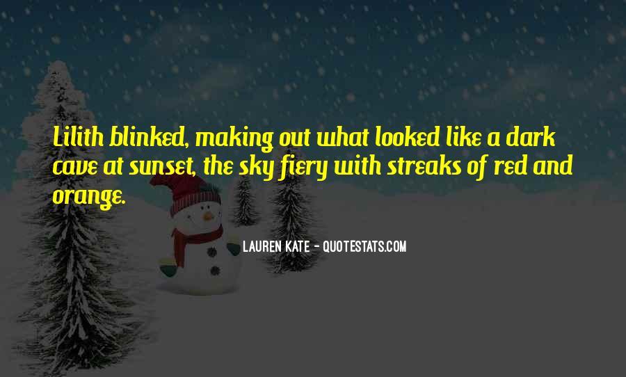 Sky Orange Quotes #1199665