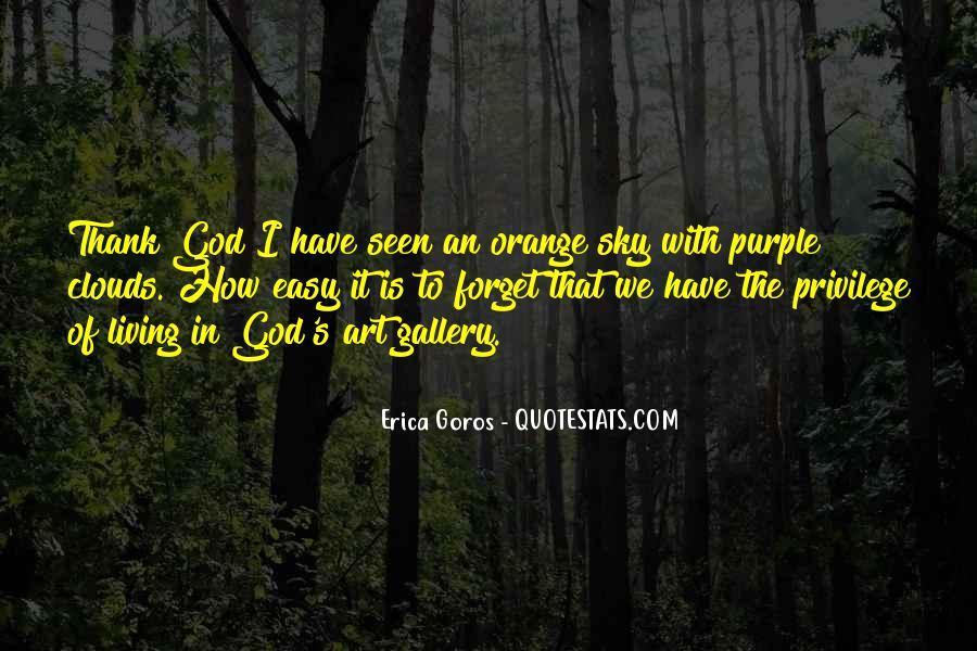 Sky Orange Quotes #1417051