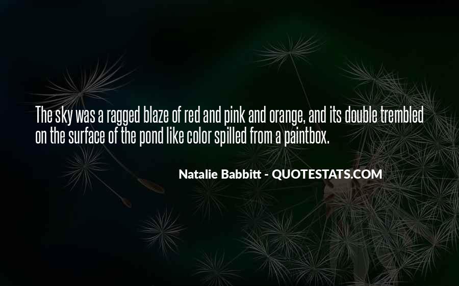 Sky Orange Quotes #1695734