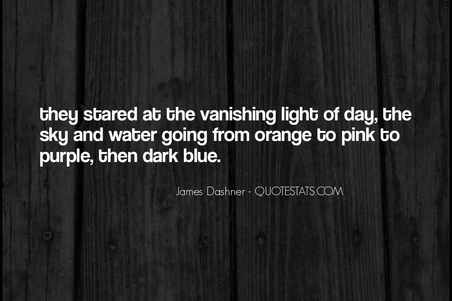 Sky Orange Quotes #1765906