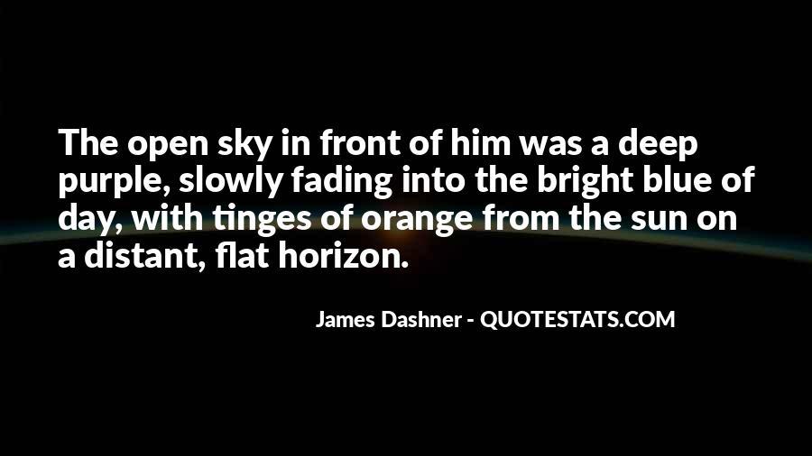 Sky Orange Quotes #472118