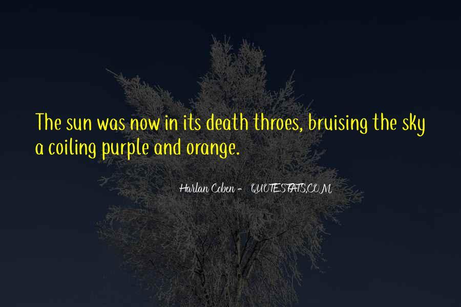 Sky Orange Quotes #489783