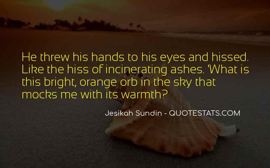 Sky Orange Quotes #514869