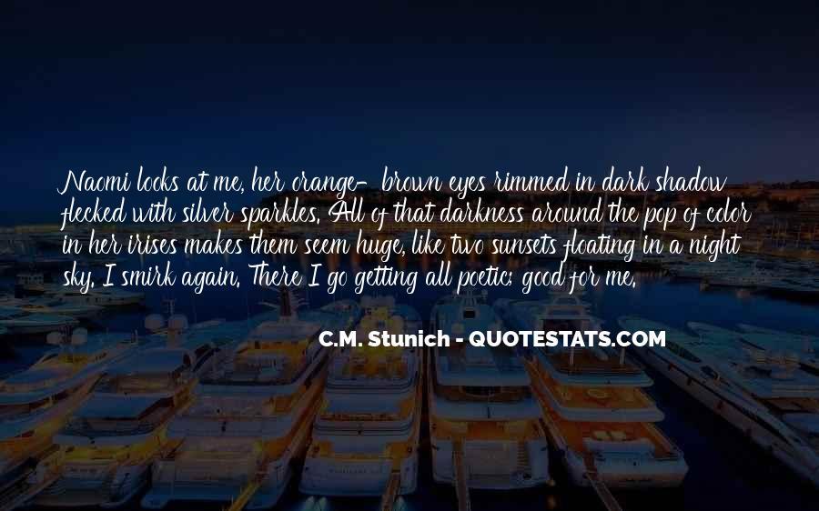 Sky Orange Quotes #515526
