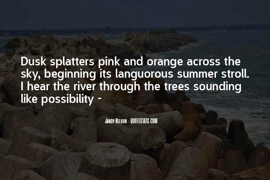Sky Orange Quotes #605294