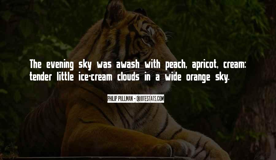 Sky Orange Quotes #860096