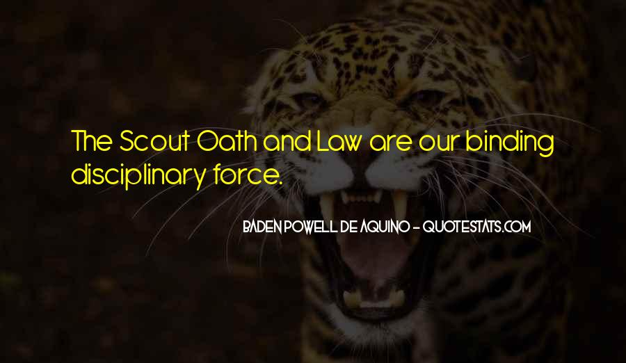 Quotes About Baden Powell #1038143