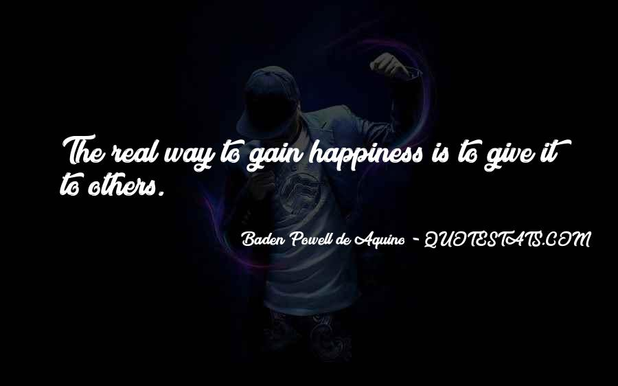 Quotes About Baden Powell #1047784