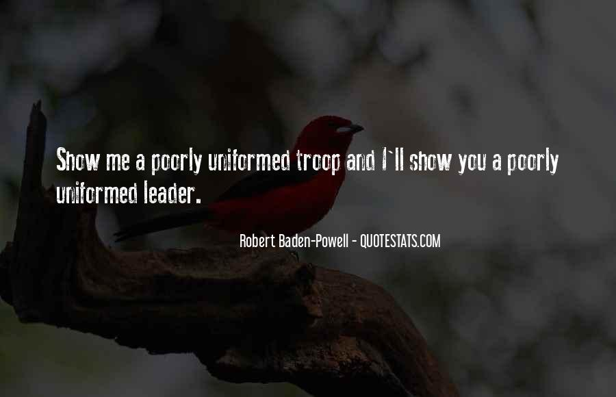 Quotes About Baden Powell #1065256