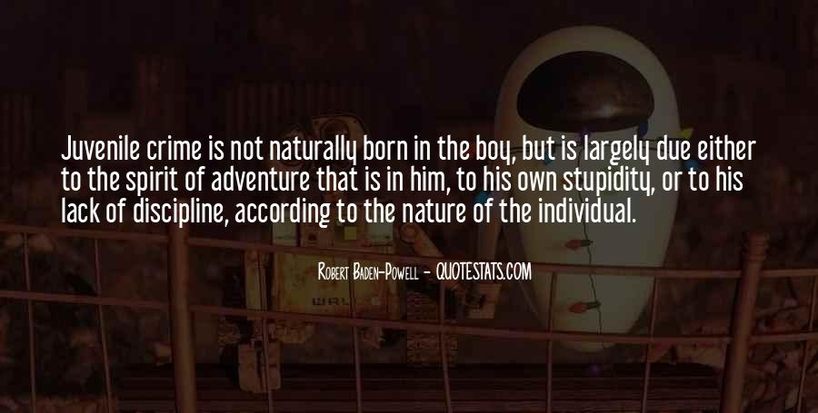 Quotes About Baden Powell #1166730