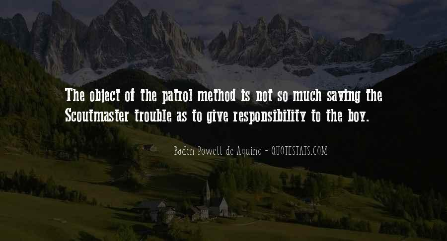 Quotes About Baden Powell #1424520