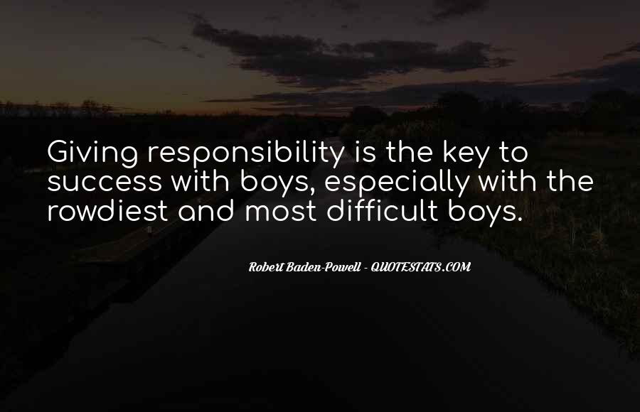 Quotes About Baden Powell #1433366