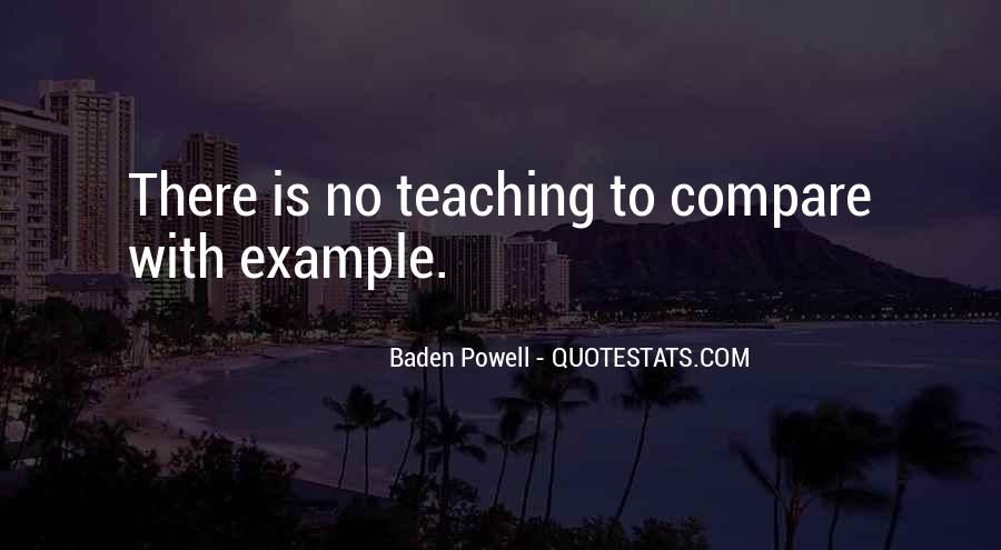 Quotes About Baden Powell #1446684