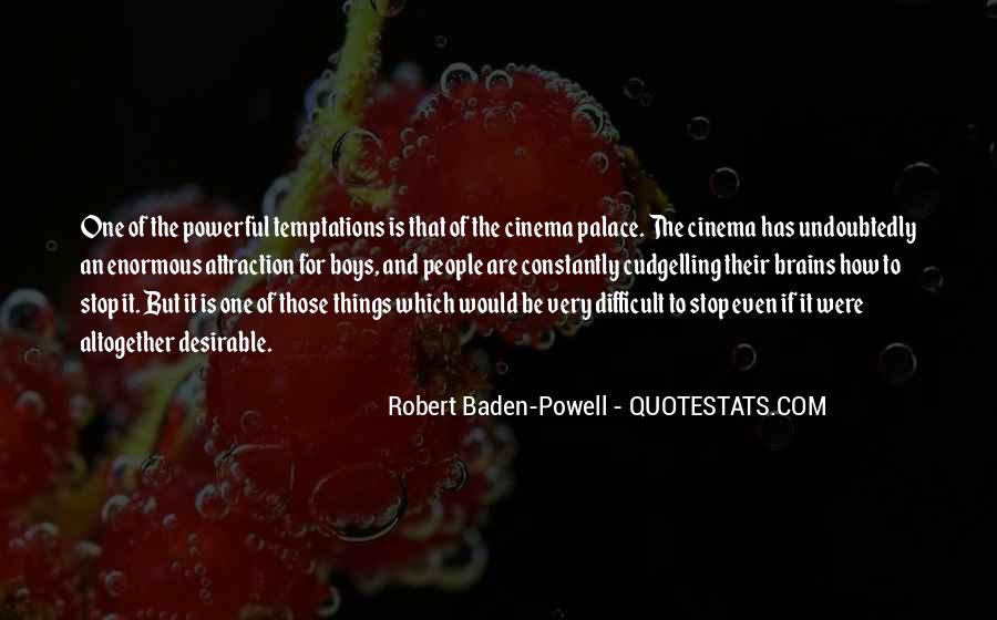 Quotes About Baden Powell #1459494