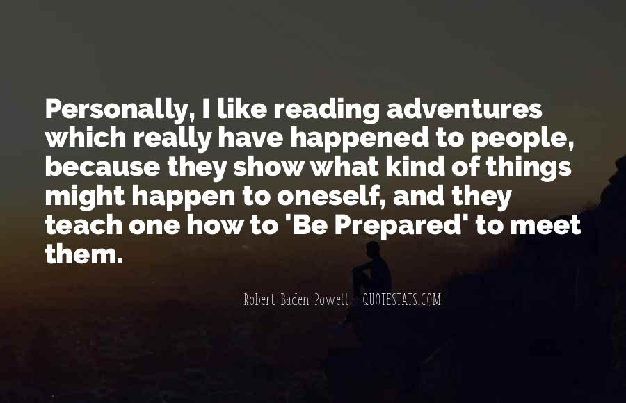 Quotes About Baden Powell #1480298