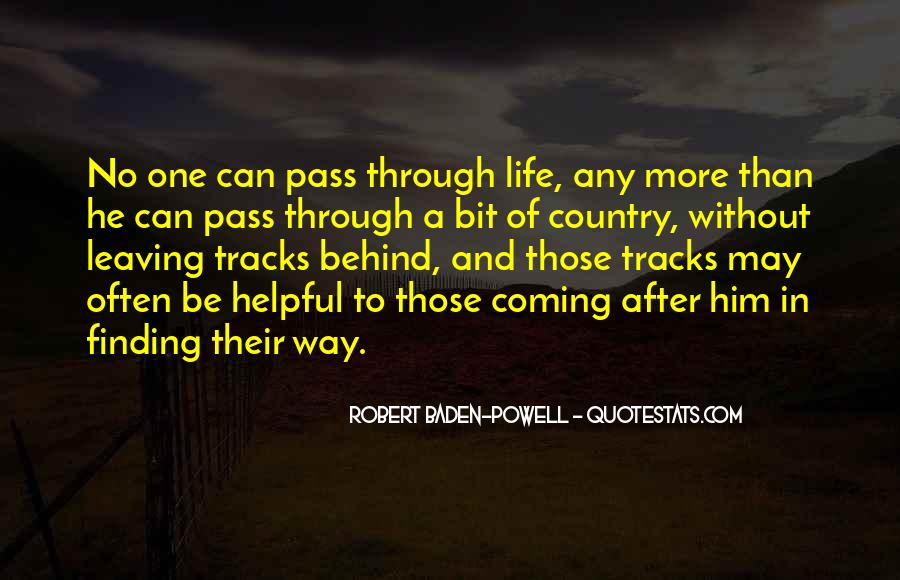 Quotes About Baden Powell #170219