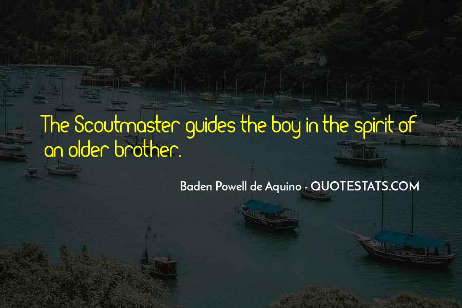 Quotes About Baden Powell #220531