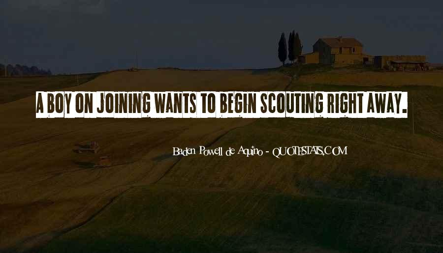 Quotes About Baden Powell #277012