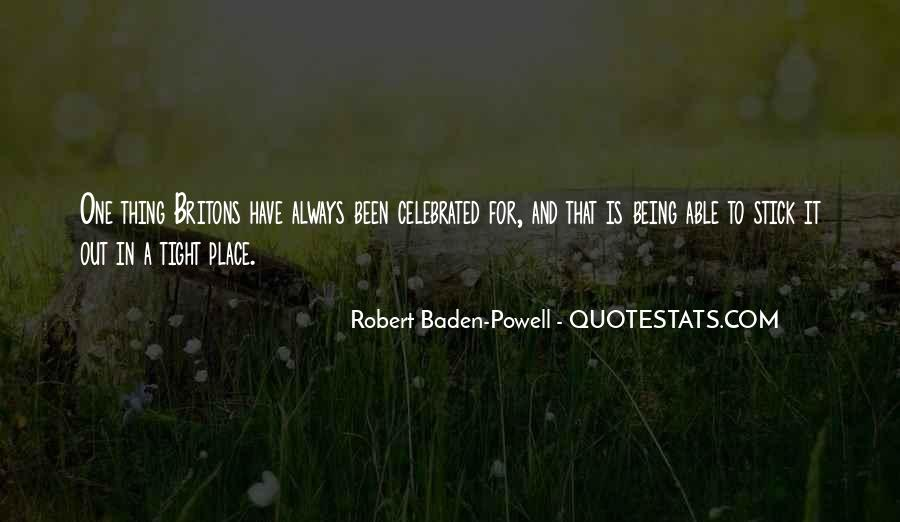 Quotes About Baden Powell #296074