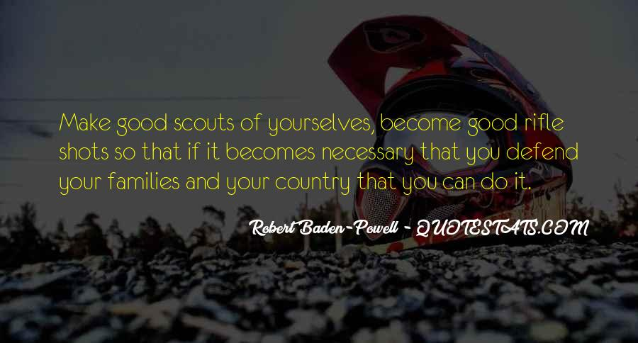 Quotes About Baden Powell #387401