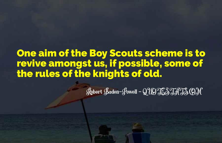 Quotes About Baden Powell #401639