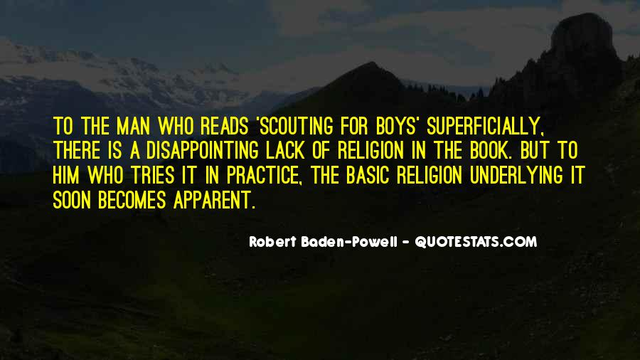 Quotes About Baden Powell #432939