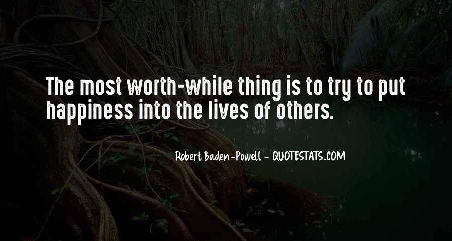 Quotes About Baden Powell #654818