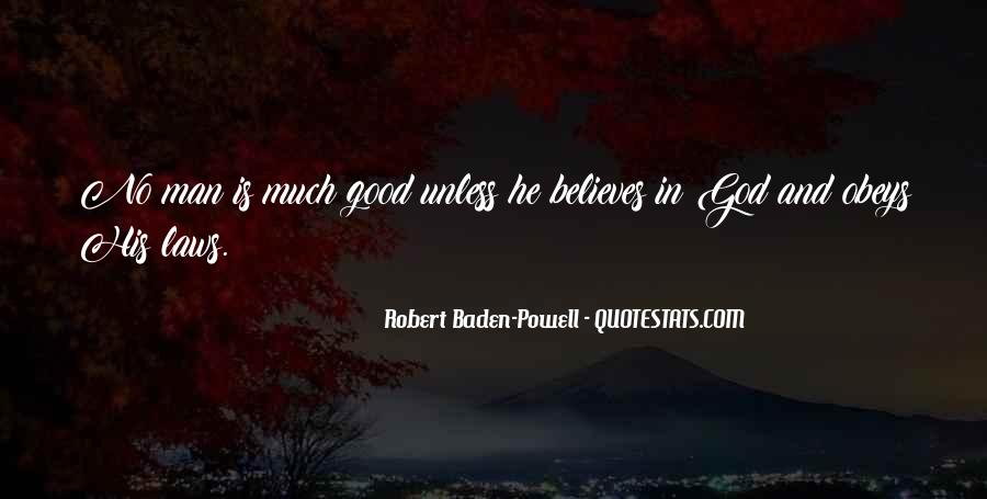 Quotes About Baden Powell #683938