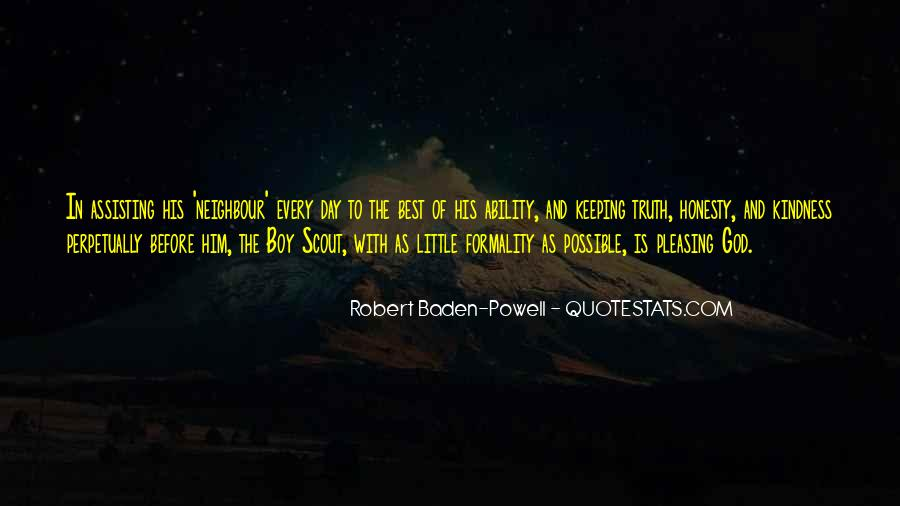 Quotes About Baden Powell #691131