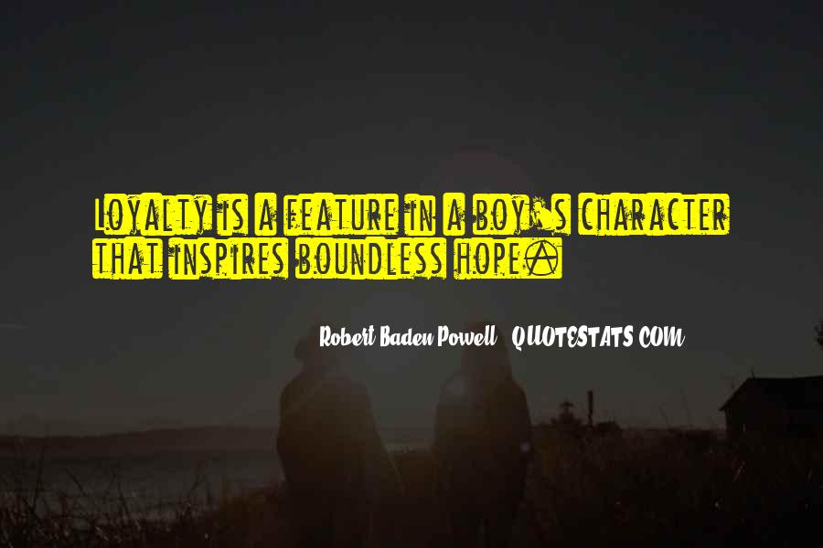 Quotes About Baden Powell #705473