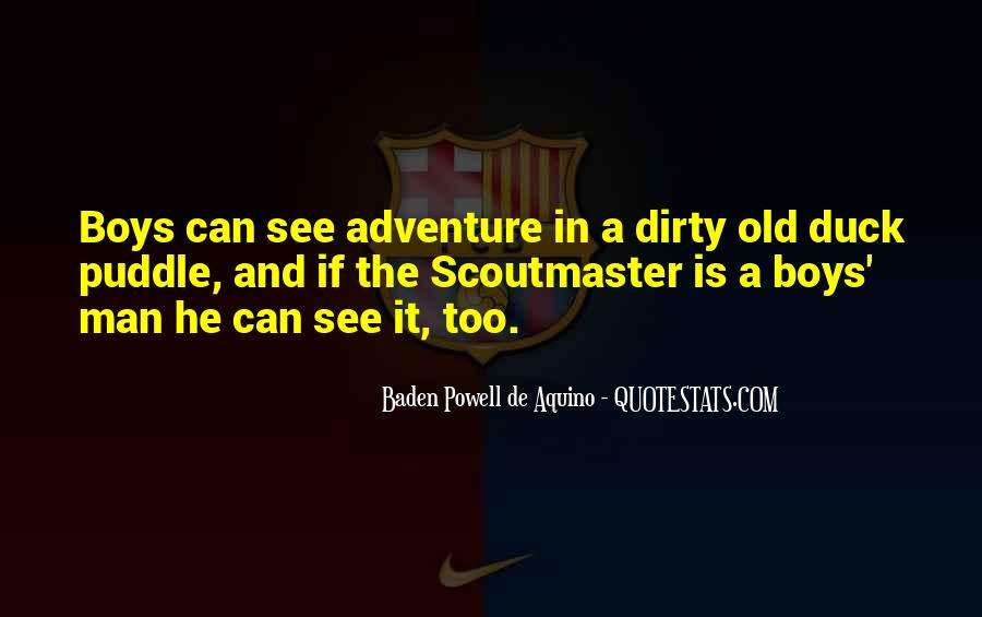 Quotes About Baden Powell #835517