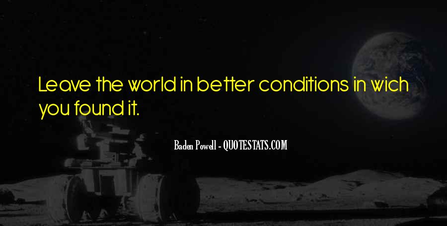 Quotes About Baden Powell #88611