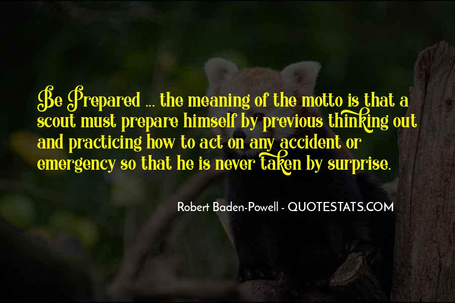 Quotes About Baden Powell #948475
