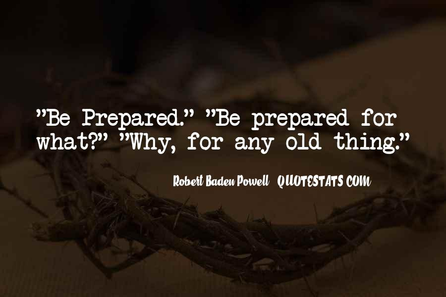 Quotes About Baden Powell #955118