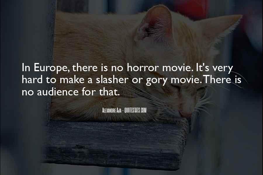 Slasher Movie Quotes #320904
