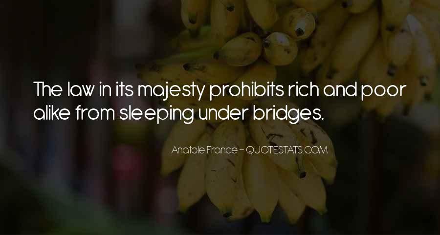 Sleep Is For The Rich Quotes #1168222