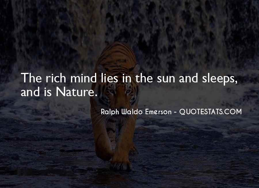 Sleep Is For The Rich Quotes #762408