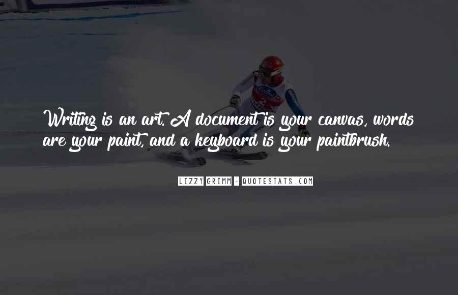 Quotes About Art Canvas #1127847