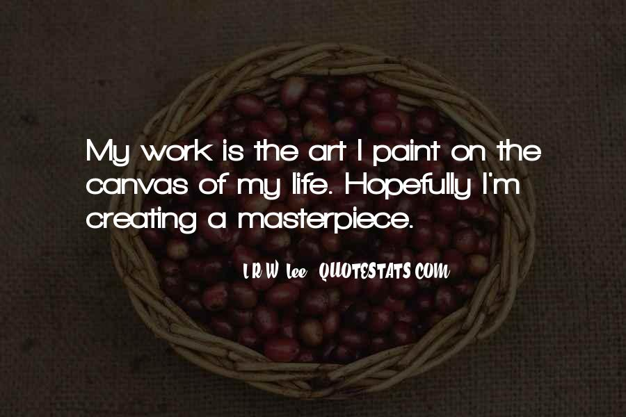 Quotes About Art Canvas #1206527