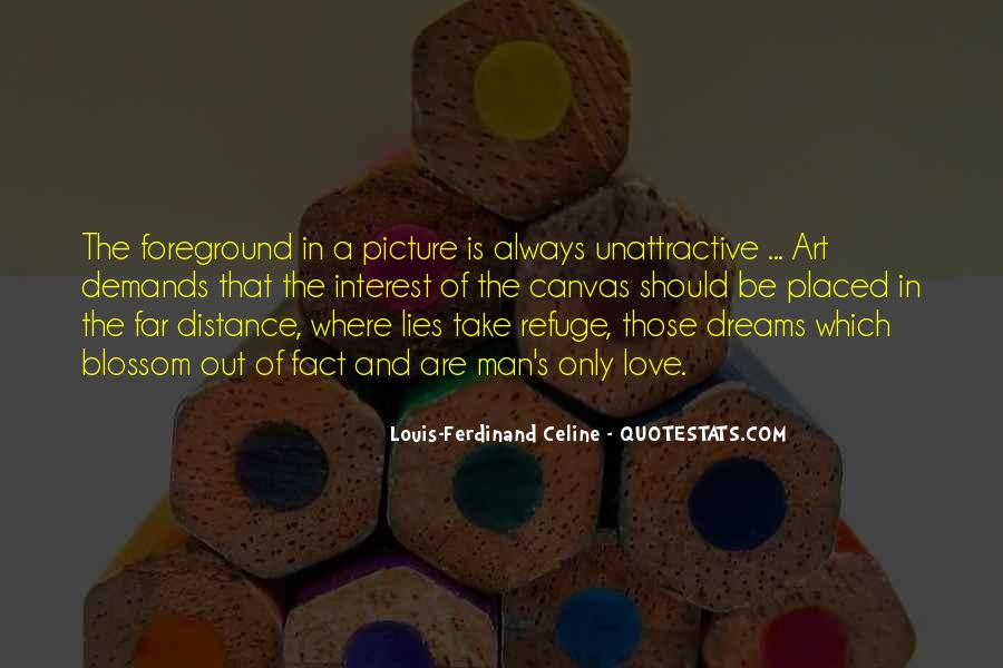Quotes About Art Canvas #1283712