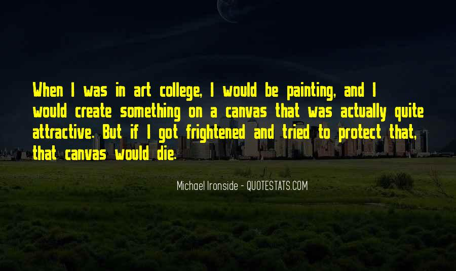 Quotes About Art Canvas #1325180
