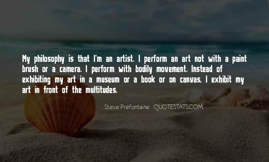 Quotes About Art Canvas #1391959