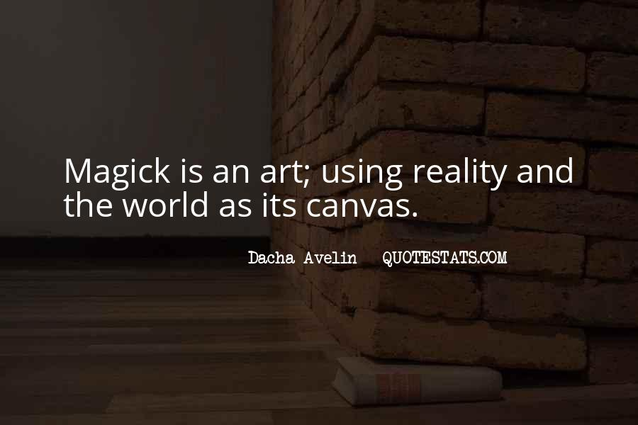Quotes About Art Canvas #1562113
