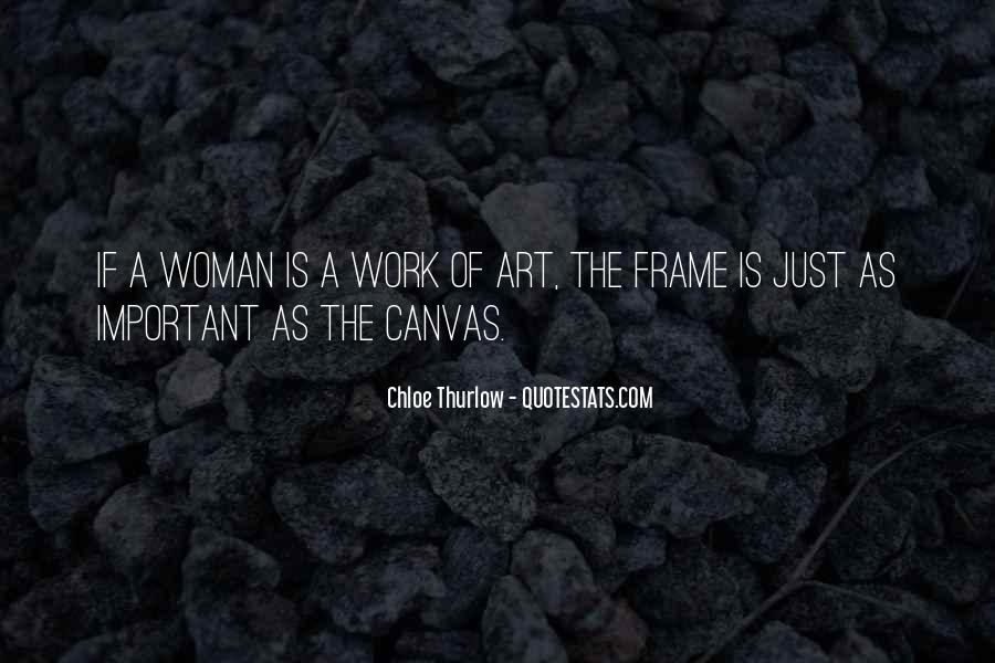 Quotes About Art Canvas #195865